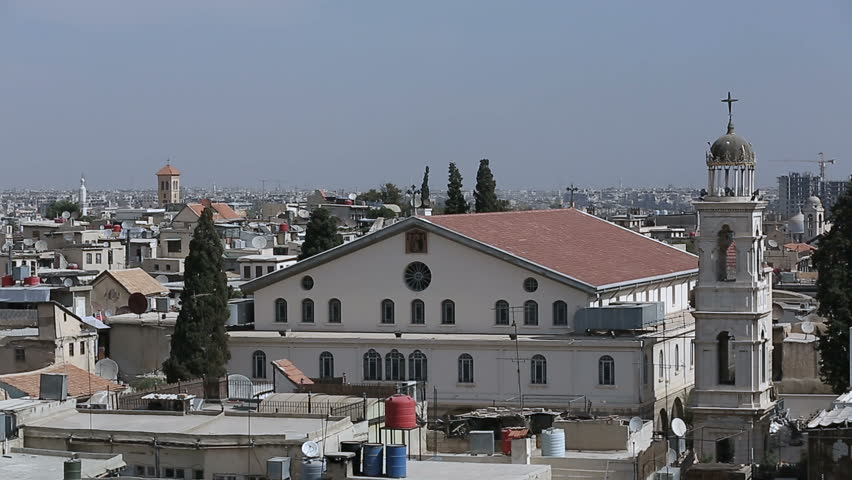 Mariamite Cathedral of Damascus is one of the oldest Greek Orthodox churches in Damascus, Syria and holds the seat of the Greek Orthodox Church of Antioch