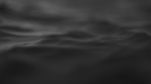 Sea or ocean wave close up, low angle view, slow motion shot. Black and white exotic background