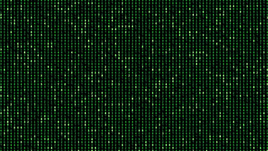 matrix binary code 4k stock footage video 7942540