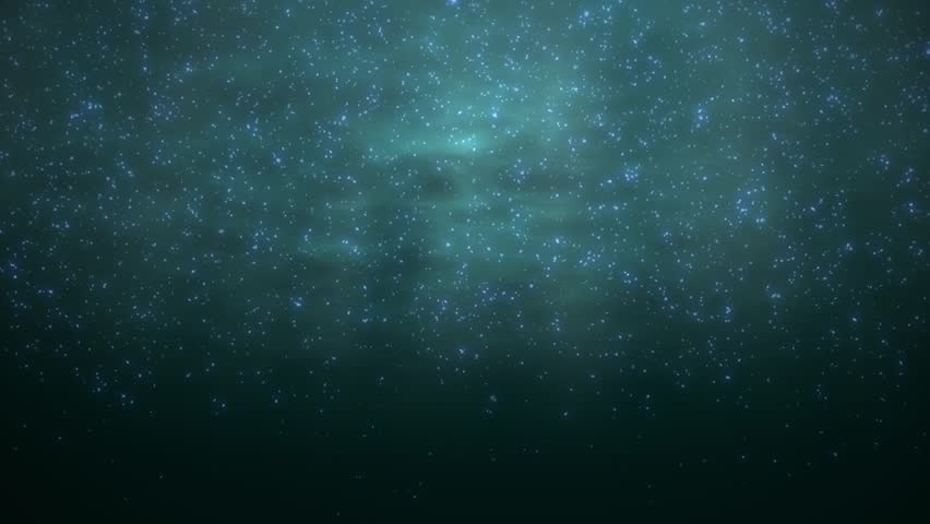 Animation (looped) of underwater shooting of floating glowing plankton. | Shutterstock HD Video #1011766046