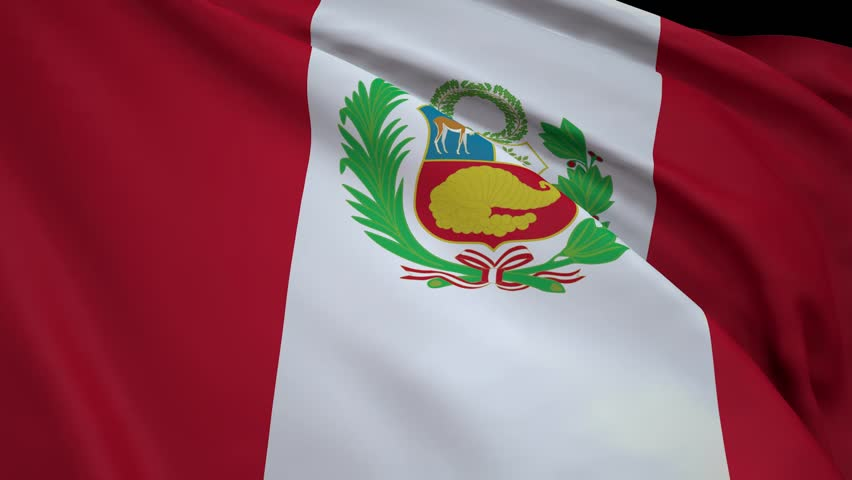 Flag of Peru | Shutterstock HD Video #1011813596
