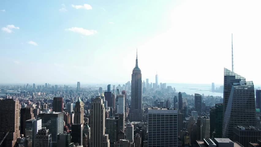 USA, New York city - May 10, 2018: view of New York city | Shutterstock HD Video #1011816356