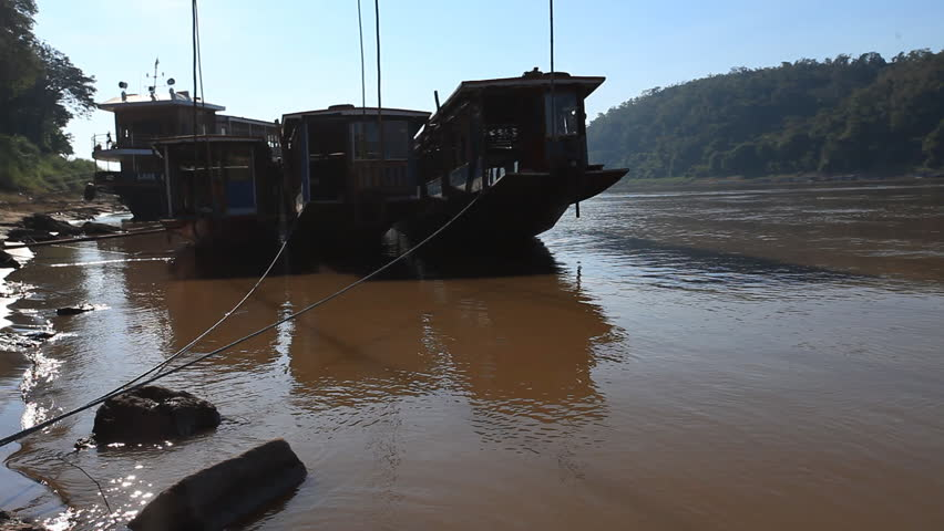 Mekong - the great river of Indochina | Shutterstock HD Video #1012209086