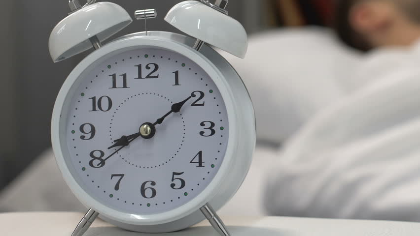 Alarm Clock Sound Waking up Stock Footage Video (100% Royalty