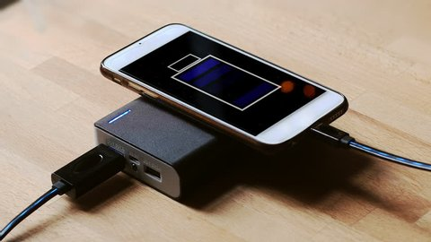 Power Bank Charger Stock Video Footage - 4K and HD Video