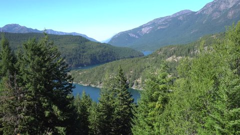 A shot of Ross Lake in North Cascades National Park.