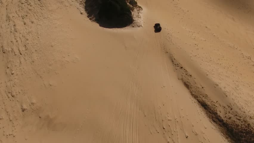 Aerial View of Dune Buggy Stock Footage Video (100% Royalty-free)  1012652816 | Shutterstock