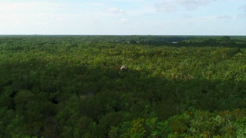Time-Lapse: Shadow Over Jungle and Pyramid