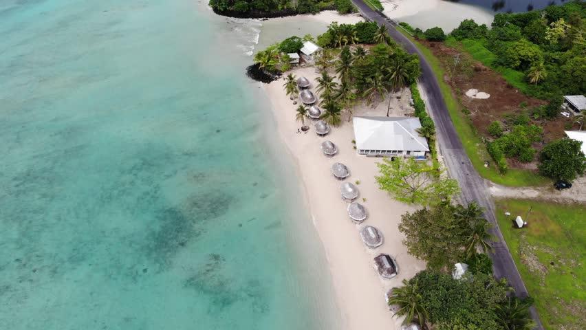 Samoan blue coastline   Shutterstock HD Video #1013012156