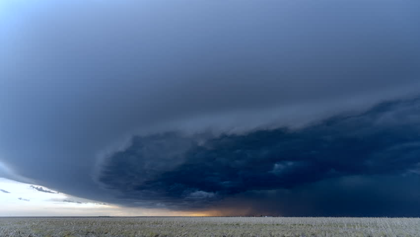 A timelapse of the center of a tornadic supercell shows the violent cloud structure and lightning needed to feed the cell, create a powerful inflow and ultimately form a tornado.