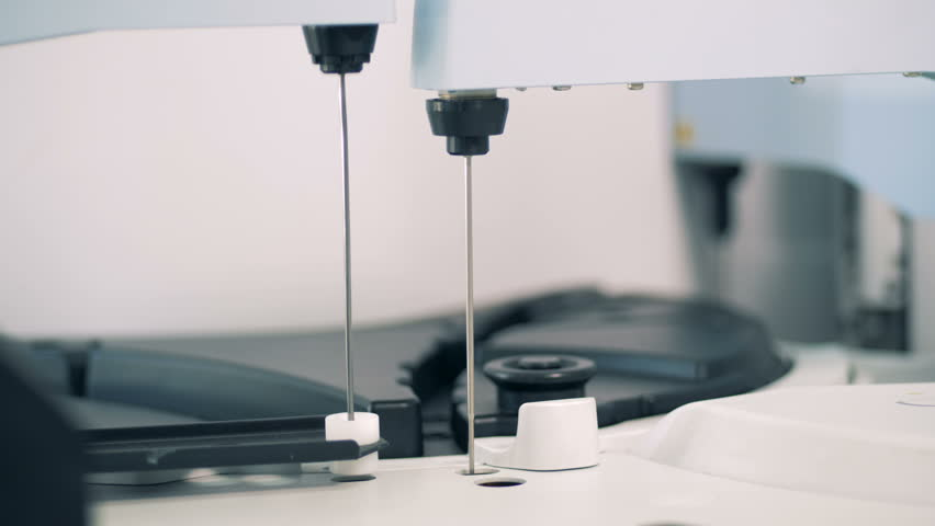 Special machine works in a laboratory, close up. | Shutterstock HD Video #1013039816