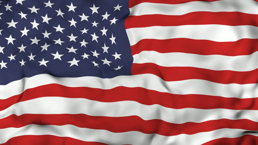 Waving American Flag Background | Shutterstock HD Video #1013073446