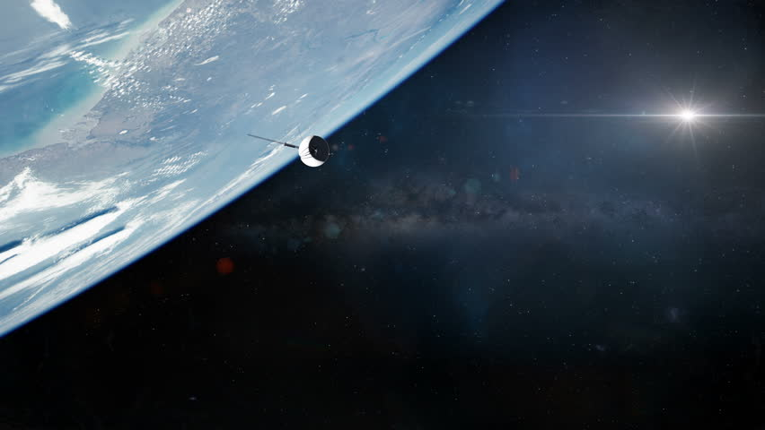 Voyage Probe Leaving Earth