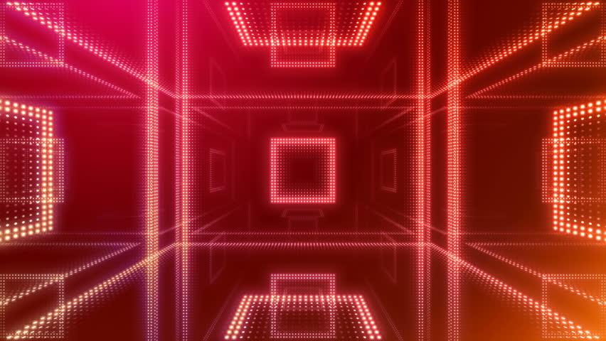 Disco club room space illumination neon light floor wall | Shutterstock HD Video #1013266256