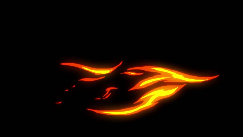 Flame animation.Cartoon flame animation.Flame background and texture.cartoon fire animation