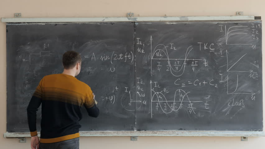 The wiping a blackboard after the lesson  | Shutterstock HD Video #1013598836