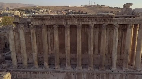 Roman temple of Bacchus in Baalbek, Lebanon