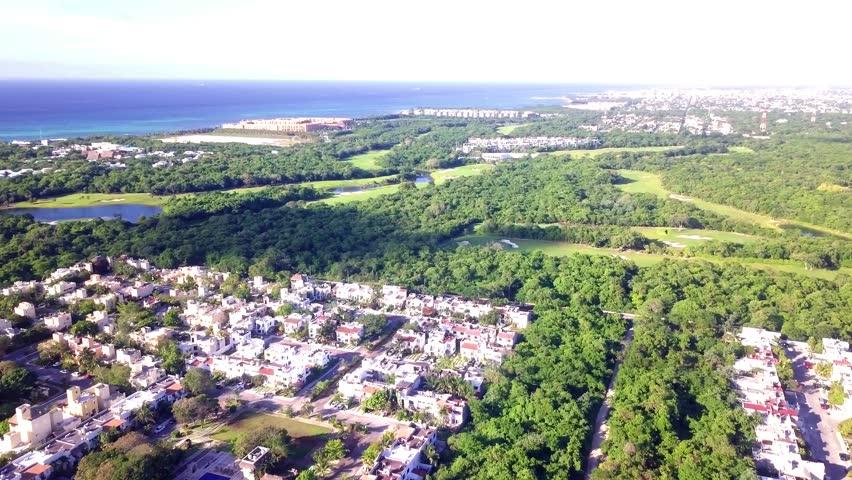 Drone Aerial Playa Del Carmen Stock Footage Video (100% Royalty-free)  1013759456 | Shutterstock