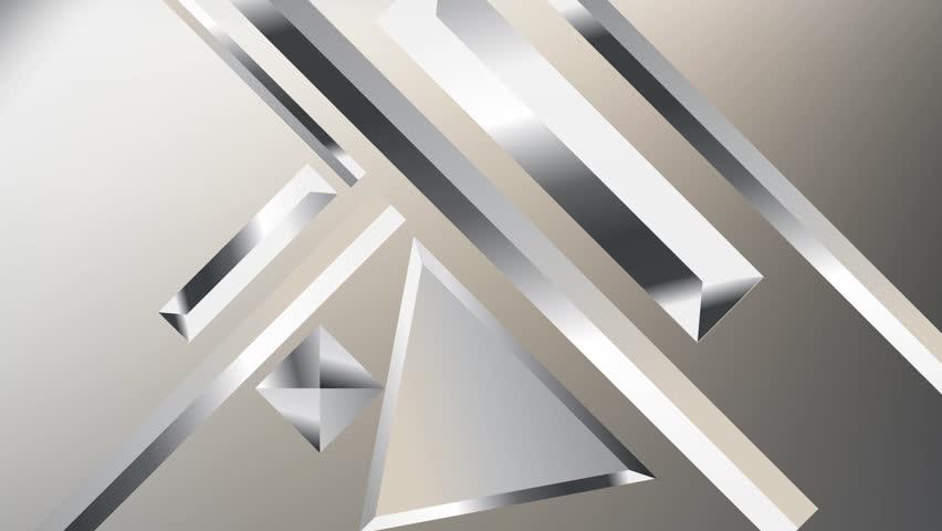 Metal texture gradients animation. Modern abstract metal texture gradient shapes composition. Golden geometric figures. Minimal Vector cover video. Futuristic design. stock footage.   Shutterstock HD Video #1013858096