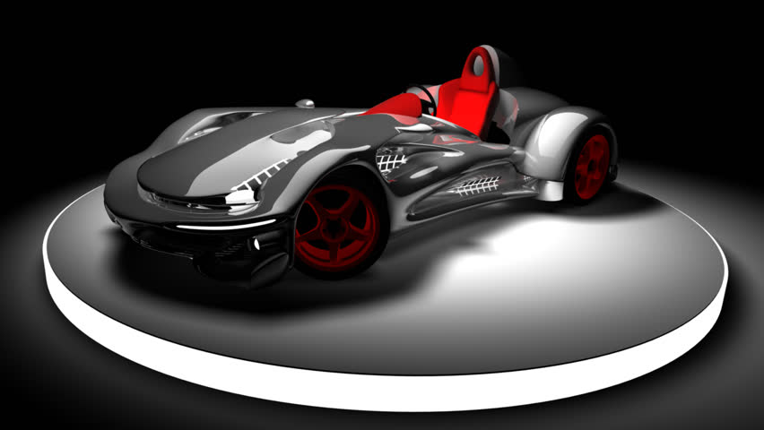 Concept car 3d render (No trademark issues as the car is my own design) (HD, 30fps, loop)