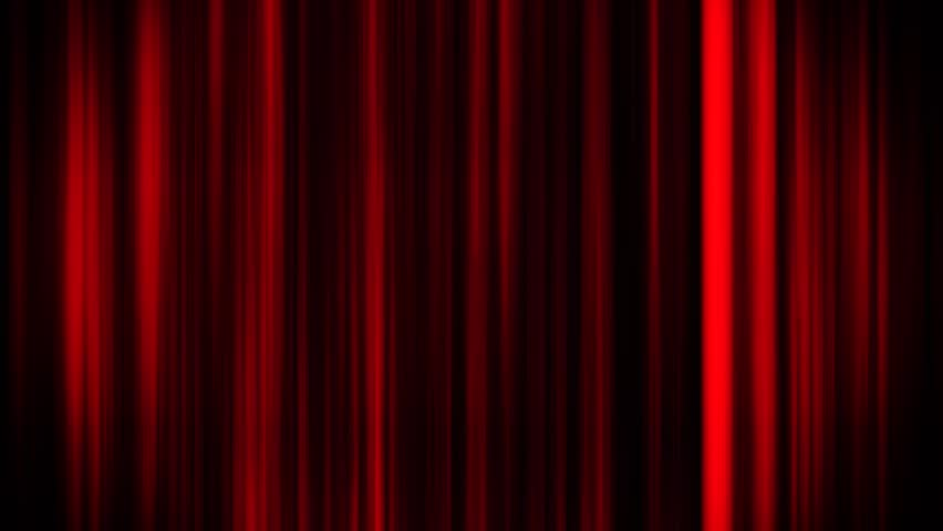 Red Glowing Vertical Lines Loop Motion Graphic Background
