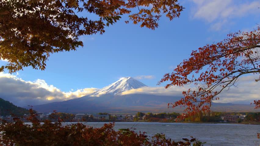 Mount Fuji in Autumn - Japan | Shutterstock HD Video #1014427166