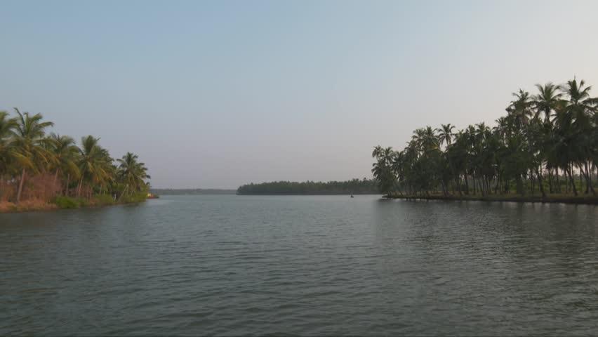 Kerala Backwater footage
