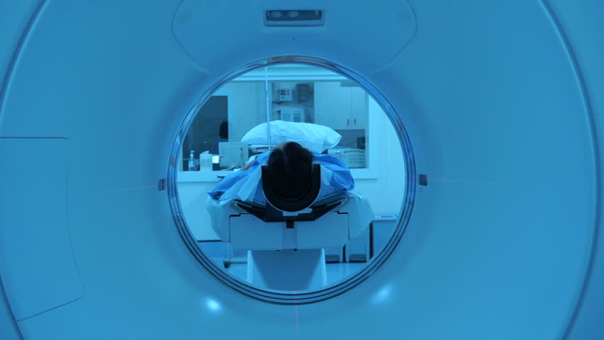 Tomograph, Patient on magnetic resonance imaging, medical examination | Shutterstock HD Video #1014654506