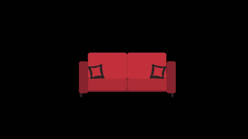 Superb Furniture Icons Animation With Black Stock Footage Video 100 Royalty Free 1015037956 Shutterstock Machost Co Dining Chair Design Ideas Machostcouk
