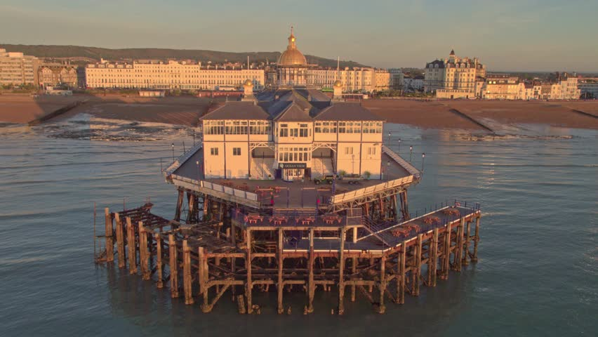 The Eastbourne Pier at Sunrise