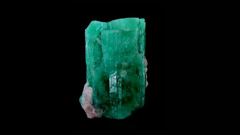 raw emerald and gemstone rough rock crystal