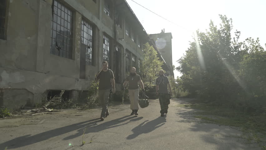 Image result for warriors next to ruined building