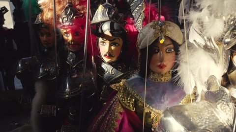 Sicilian Puppets Collection
