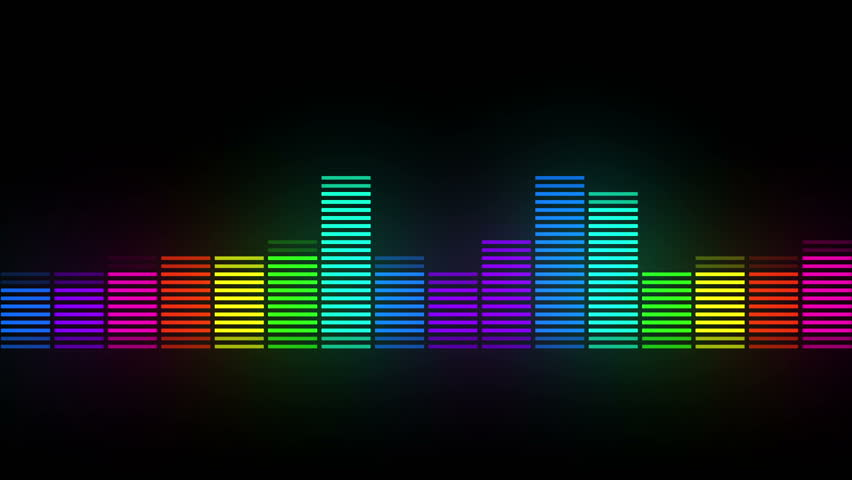 Color music equalizer abstract | Shutterstock HD Video #1015483546
