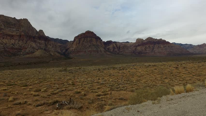 Red Rock Canyon Hyper Lapse, Las Vegas   Shutterstock HD Video #1016022946