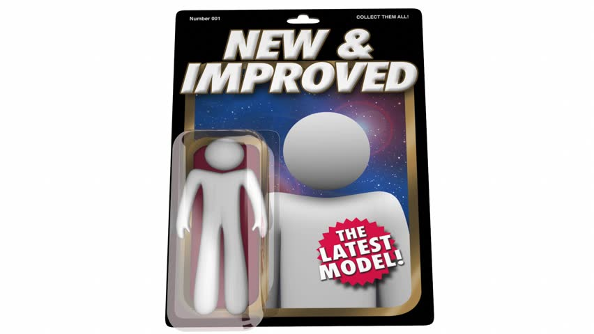 New and Improved Latest Model Product Release Action Figure 3d Animation | Shutterstock HD Video #1016056906