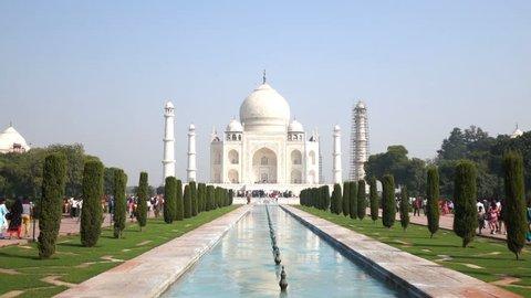 Taj Mahal, The Great Monument in Agra, India