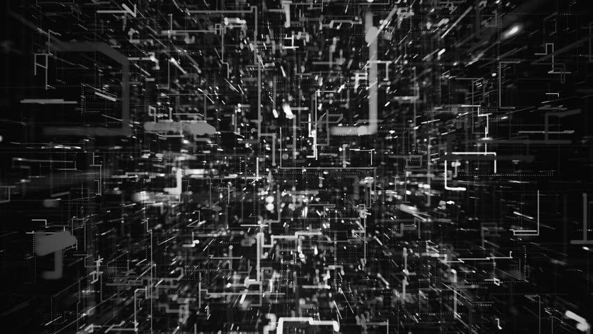 4K Futuristic Network Growth. Seamless Loop | Shutterstock HD Video #1016767546