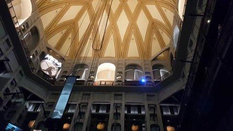 Museo Del Cinema.Museo Nazionale Del Cinema Stock Video Footage 4k And Hd Video