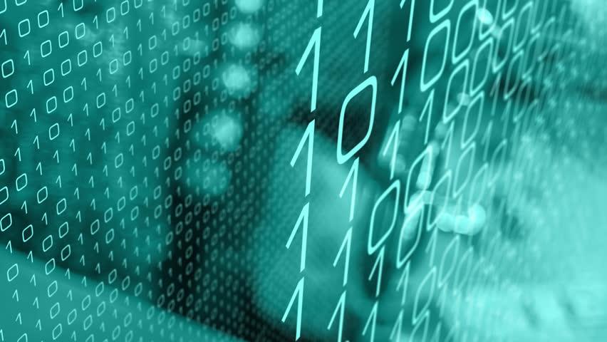 Artificial intelligence coding computer language | Shutterstock HD Video #1017287776