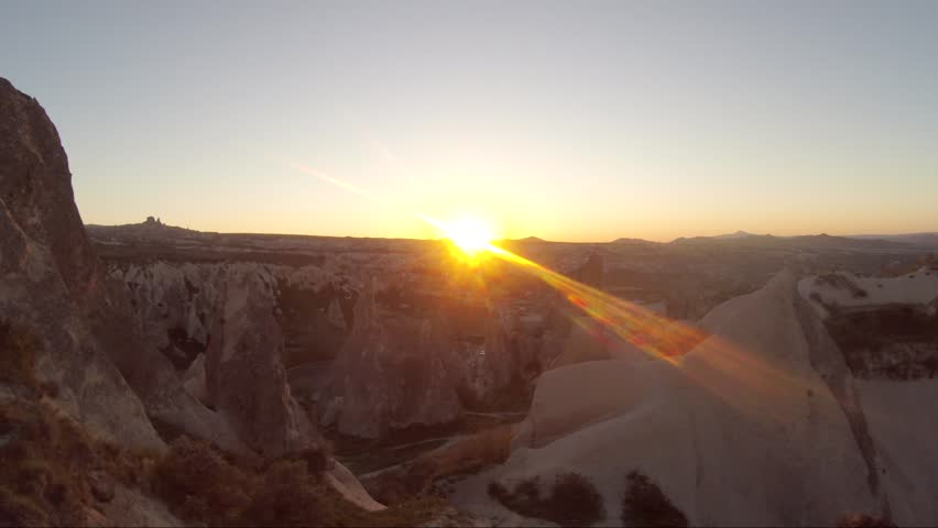 Cappadocia Sunset Drone | Shutterstock HD Video #1017301426