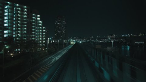 Amazing and satisfying railway in tokyo. 25fps.