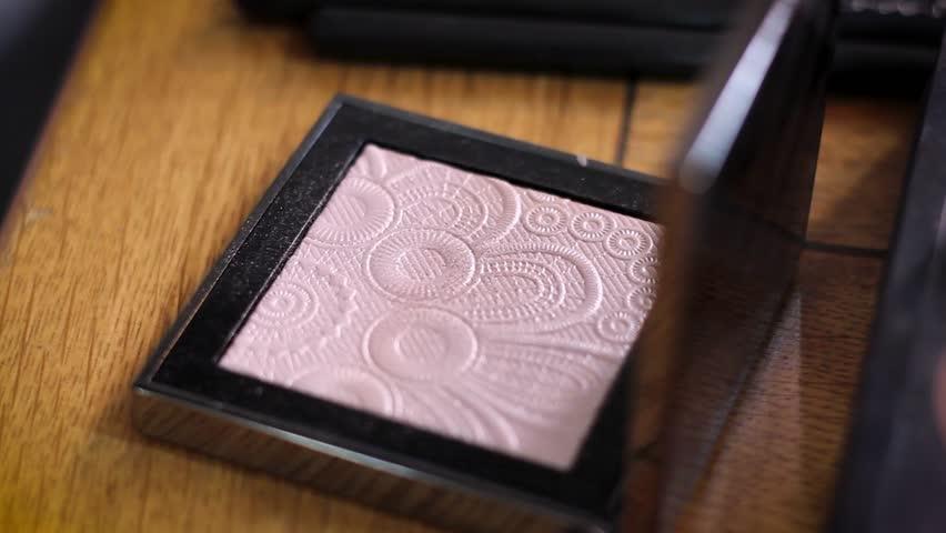 Make Up Materials Close Up   Shutterstock HD Video #1017488776