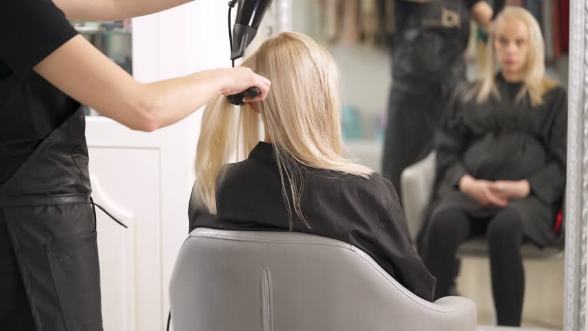 Image result for blonde hairdresser
