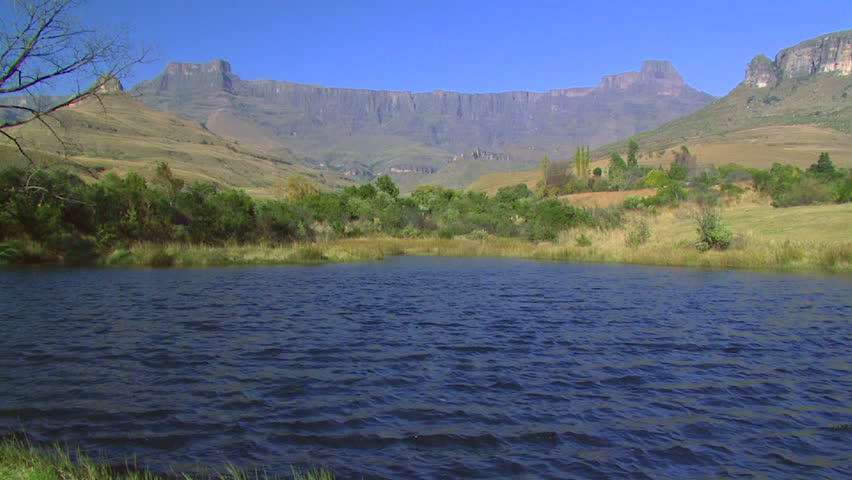 View of the Drakensberg  Amphitheater