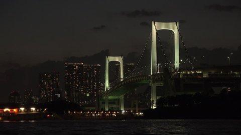 Night in Tokyo Bay