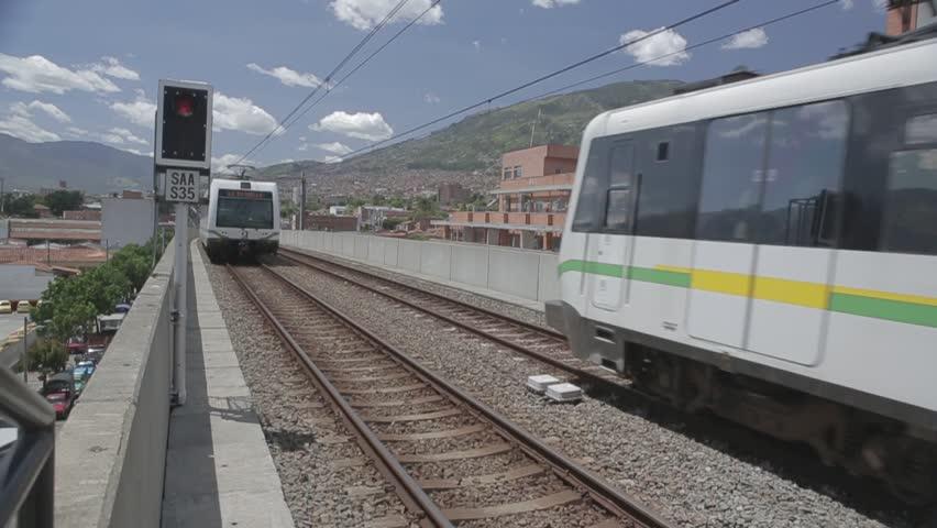 Metro of Medellín Colombia | Shutterstock HD Video #1018088296
