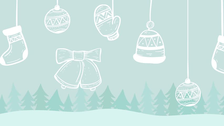 Christmas decoration background  | Shutterstock HD Video #1018168546