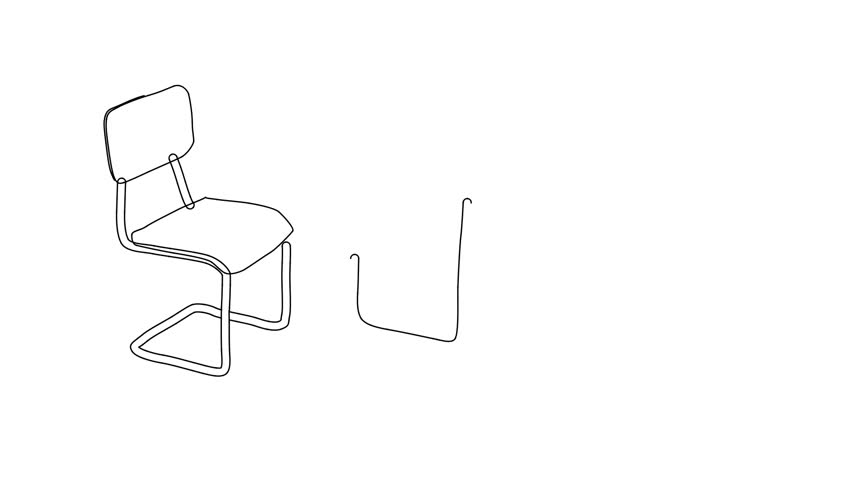 Awe Inspiring Animated Sketch Drawing Doodle Classroom Arkivvideomateriale 100 Royalty Fritt 1018388836 Shutterstock Onthecornerstone Fun Painted Chair Ideas Images Onthecornerstoneorg