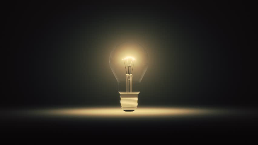 3d animation of a lightbulb flickering and exploding | Shutterstock HD Video #1019241646